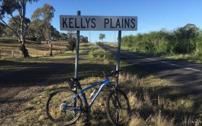 Cycling – Armidale to Kellys Plains loop